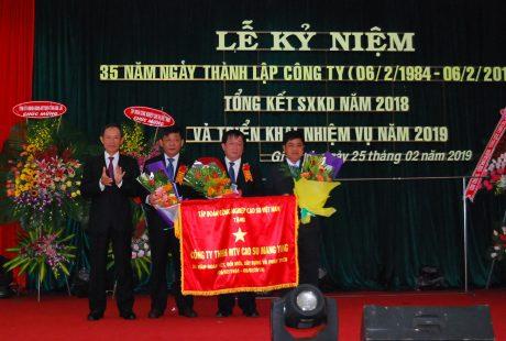 (Tiếng Việt) Đảng bộ Cao su Mang Yang: Tập trung lãnh đạo hoàn thành các mục tiêu đề ra